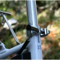 Bicycle seat tube adjustment