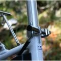 Bicycle seat tube adjustment