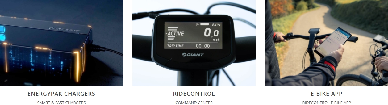 Giant e-bike technologies 2