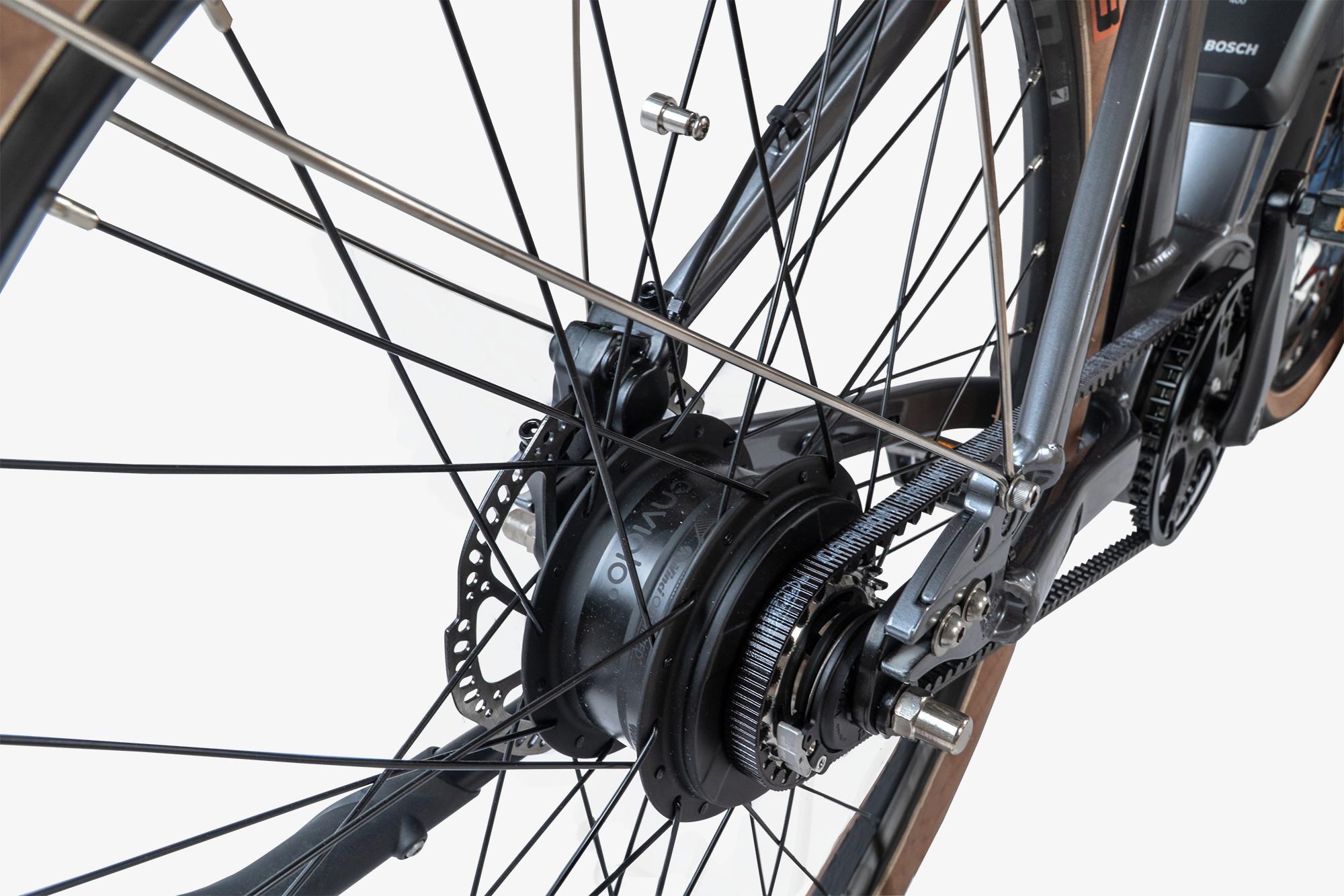 Enviolo N3780 rear hub on the Priority Embark electric bike