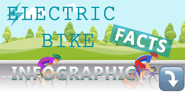 Electric bike infographic