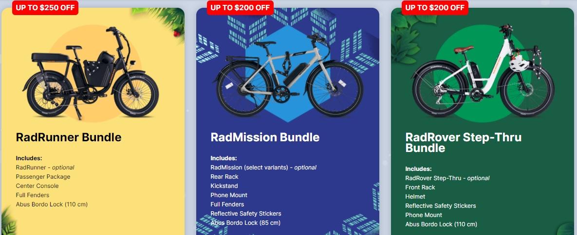 Rad Power Black Friday deals