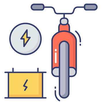 Battery and Bike