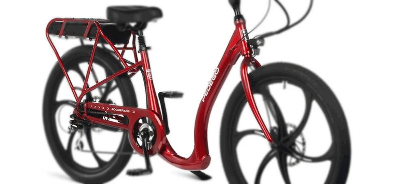 Pedego bikes unique frame design
