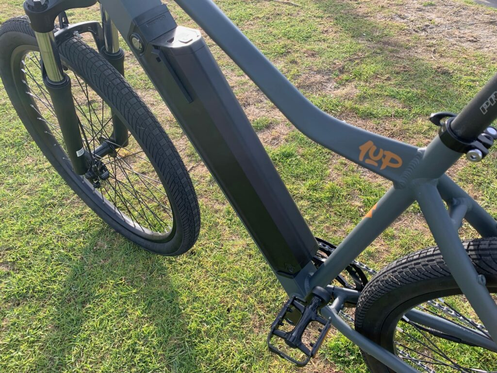 Motor and Battery Ride1UP 500 Series e-bike
