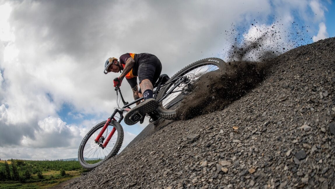 Marin Bikes mountain trail suspension