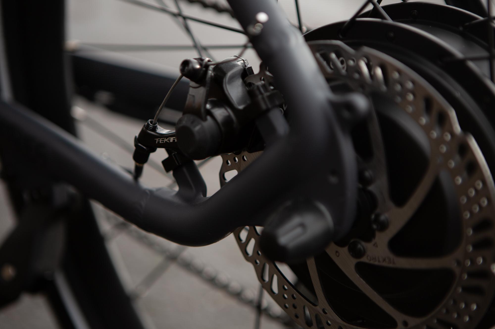 Ride1Up core 5 Tektro 160mm rear brake