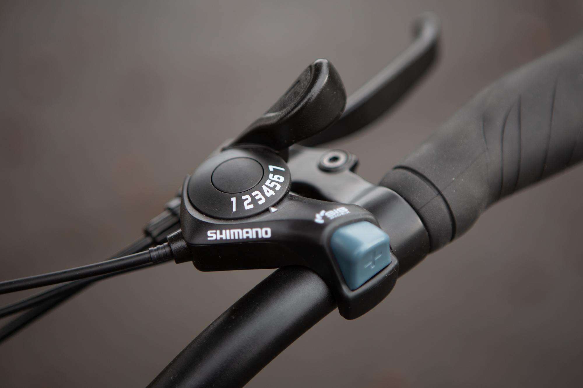 Ride1Up Core 5 Shimano shifter