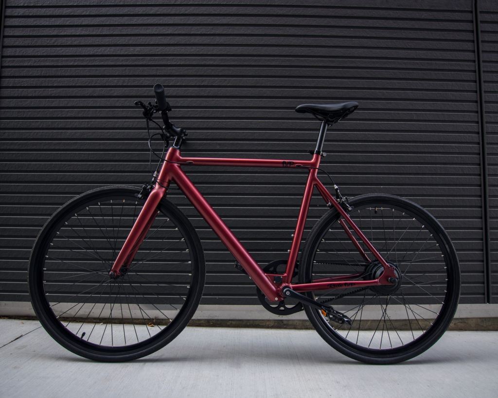Ride1UP electric bike aluminum frame