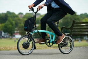 Brompton E-Bike M2L Bolt Blue Lacquer