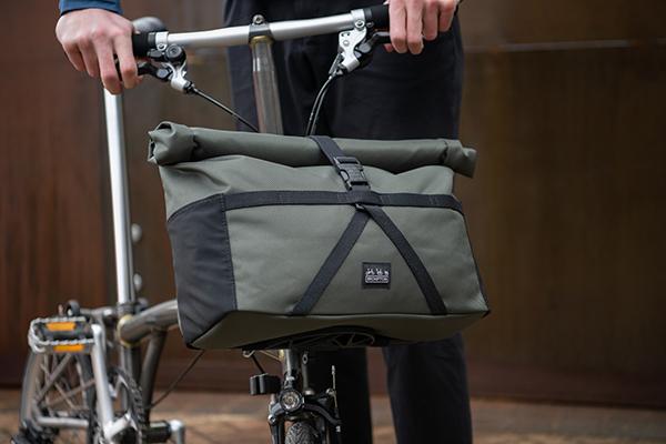 Brompton e-bike foldable design