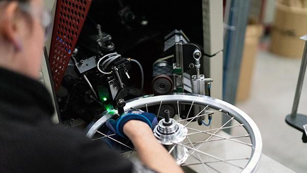Brompton e-bikes handmade