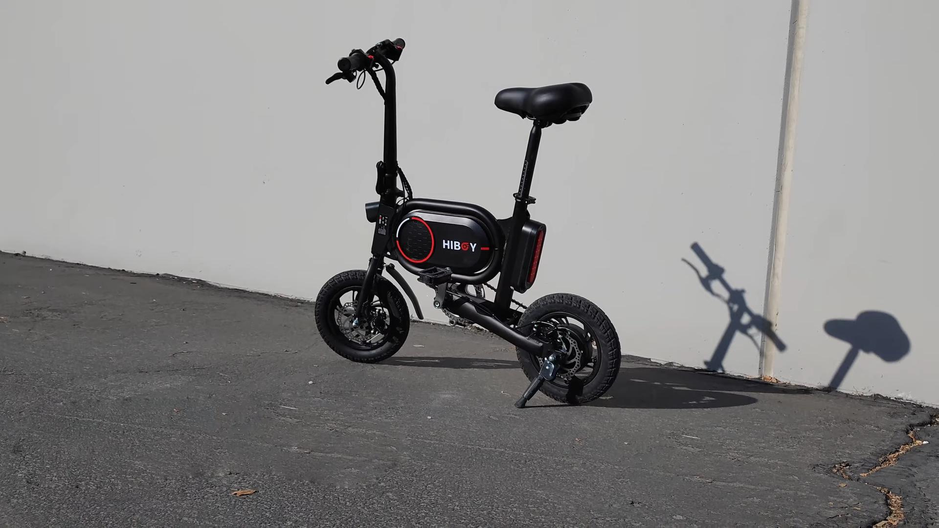 Hiboy P10 Folding Electric Bike product review