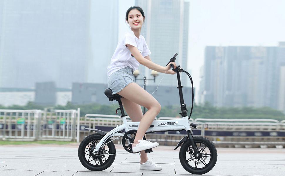 Samebike YINYU14 best folding e-city bike