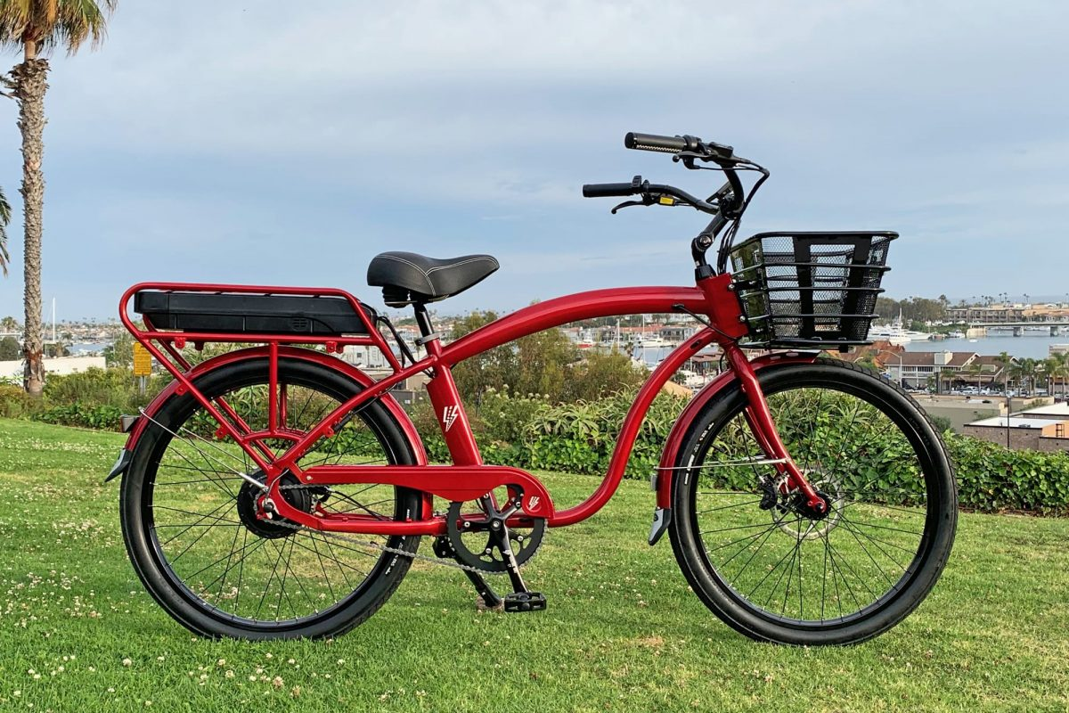 Electric Bike Company Model C built for city rides