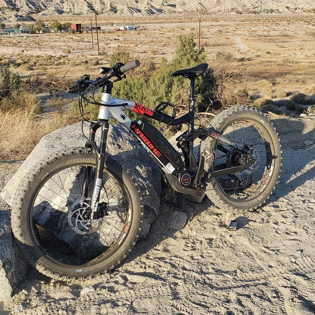 Haibike Bikes e-bike's motors are powerful