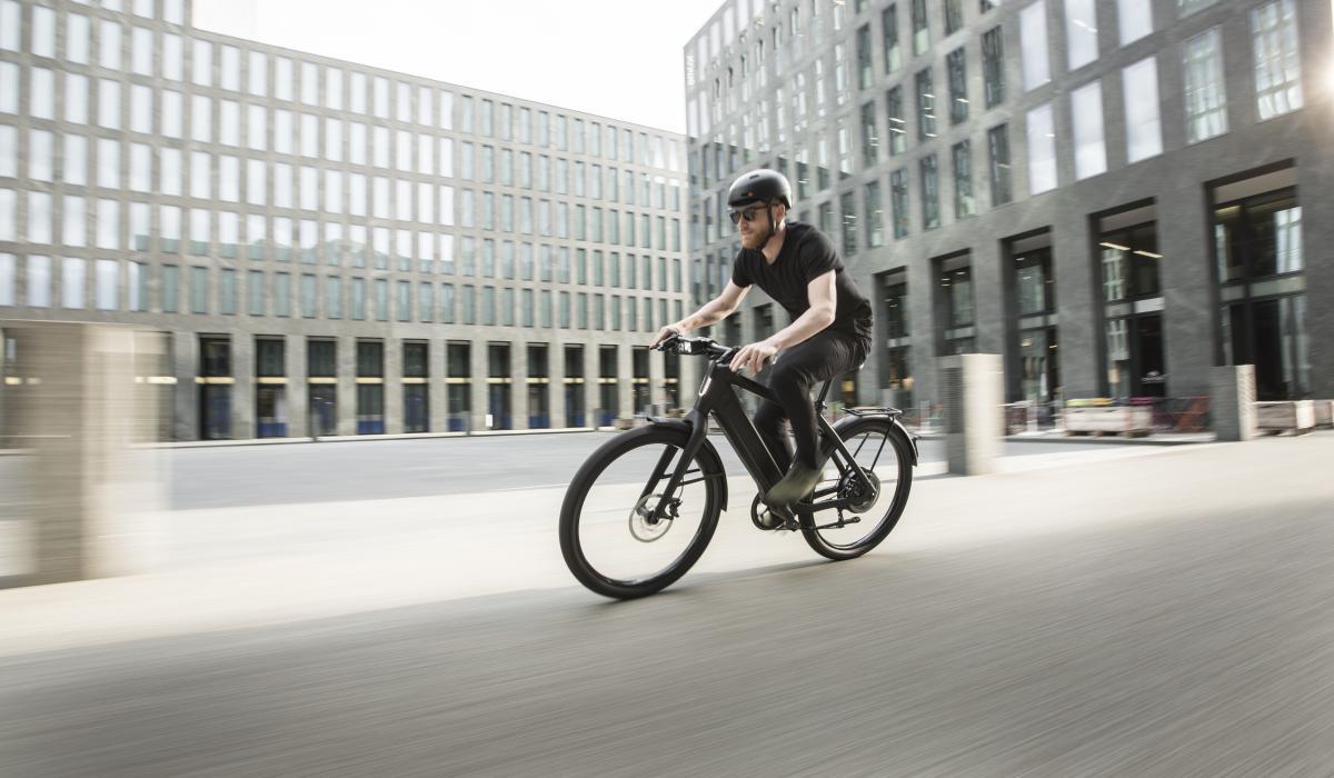 The Stromer ST3 e-bike's powerful motor