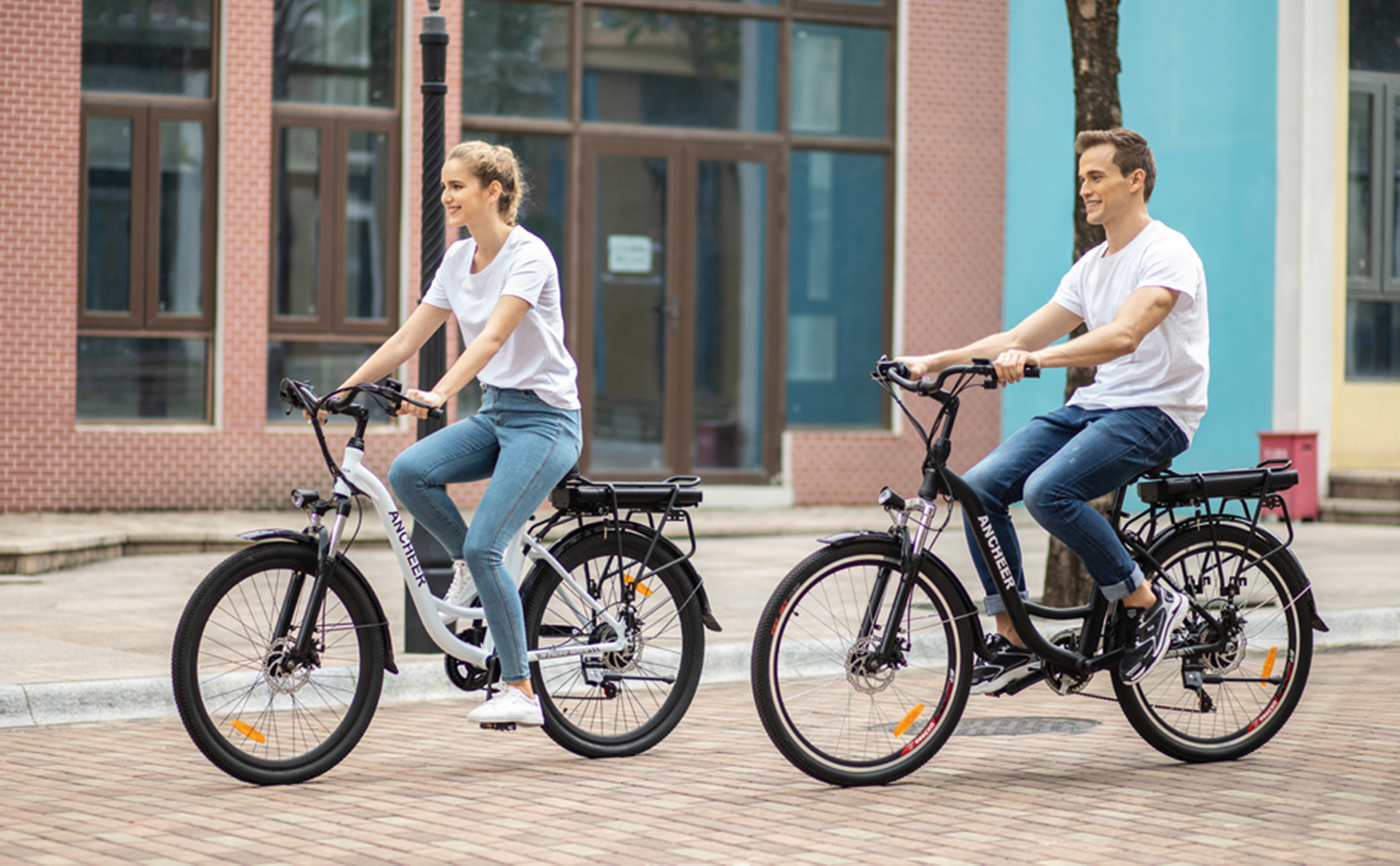 Ancheer Bikes e-bikes are for commuters