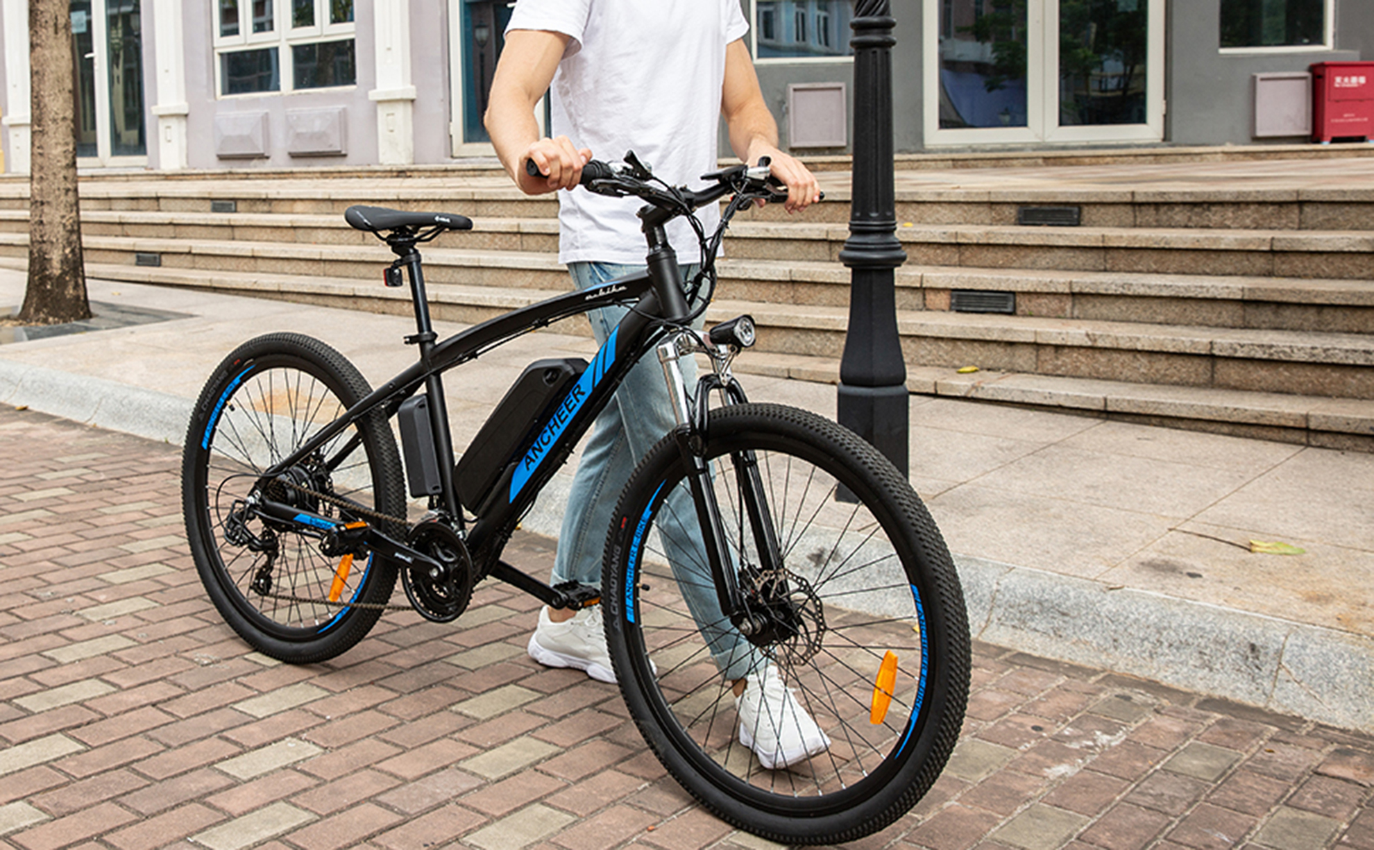 Ancheer Bikes e-bikes are lightweight and durable