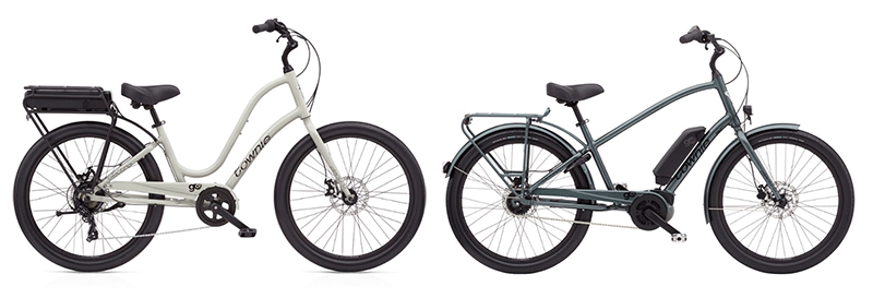 electra townie class 1 electric bikes