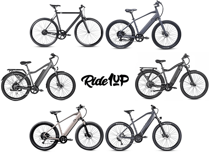 all ride1up electric bikes