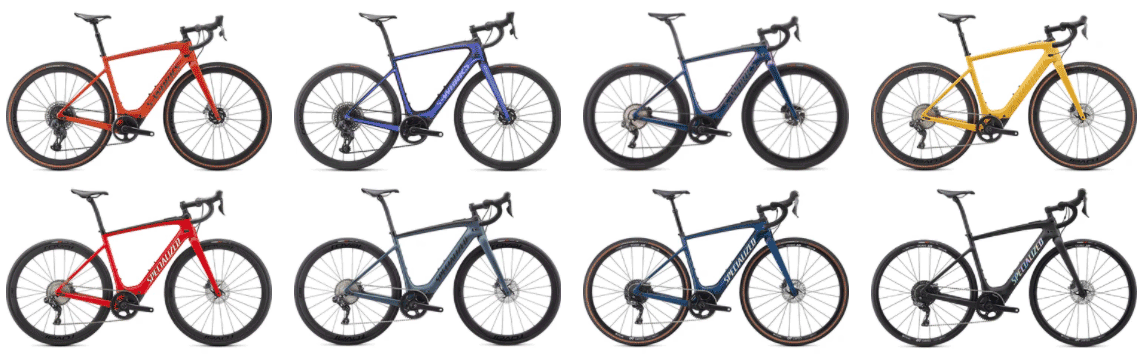 specialized electric gravel bikes