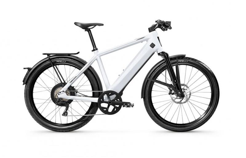 White Stromer ST3 class 3 e-bike